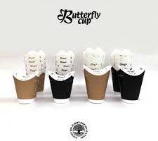 フタとカップが一体型の紙製エコカップ♪